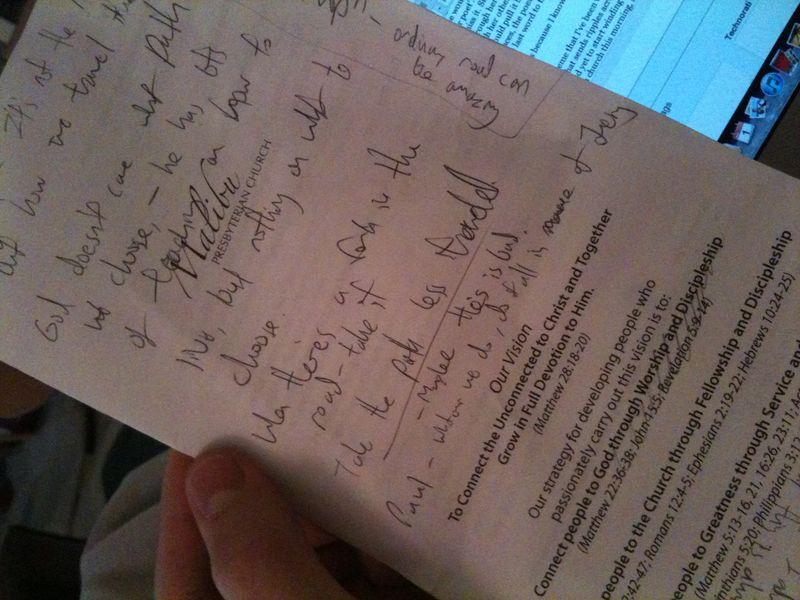 Malibu Pres scribbles